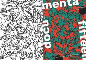Entwürfe für die visuelle Identität der documenta ffteen von Studio 4oo2