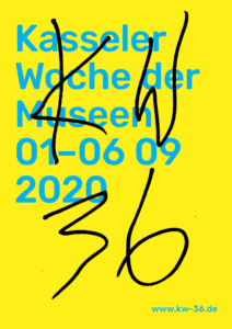 Plakat der KW 36 – Kasseler Woche der Museen