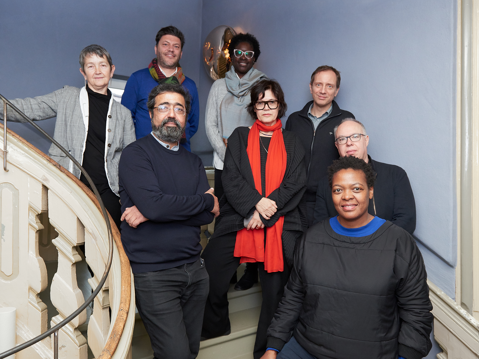 Der internationale documenta Beirat: Frances Morris, Amar Kanwar, Philippe Pirotte, Elvira Dyangani Ose, Ute Meta Bauer, Jochen Volz, Charles Esche, Gabi Ngcobo