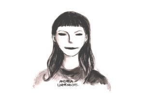 Zeichnung von Andrea Linnenkohl aus dem Artistic Team der documenta fifteen