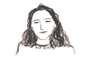 Zeichnung von Ayşe Güleç