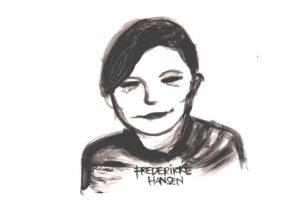 Zeichnung von Frederikke Hansen