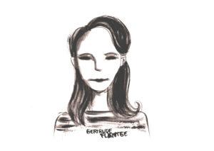 Zeichnung von Gertrude Flentge