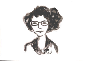 Zeichnung von Lara Khaldi